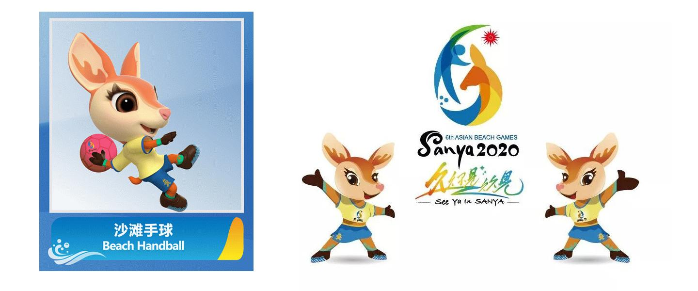 Beach Handball pictogram revealed for sixth Asian Beach Games