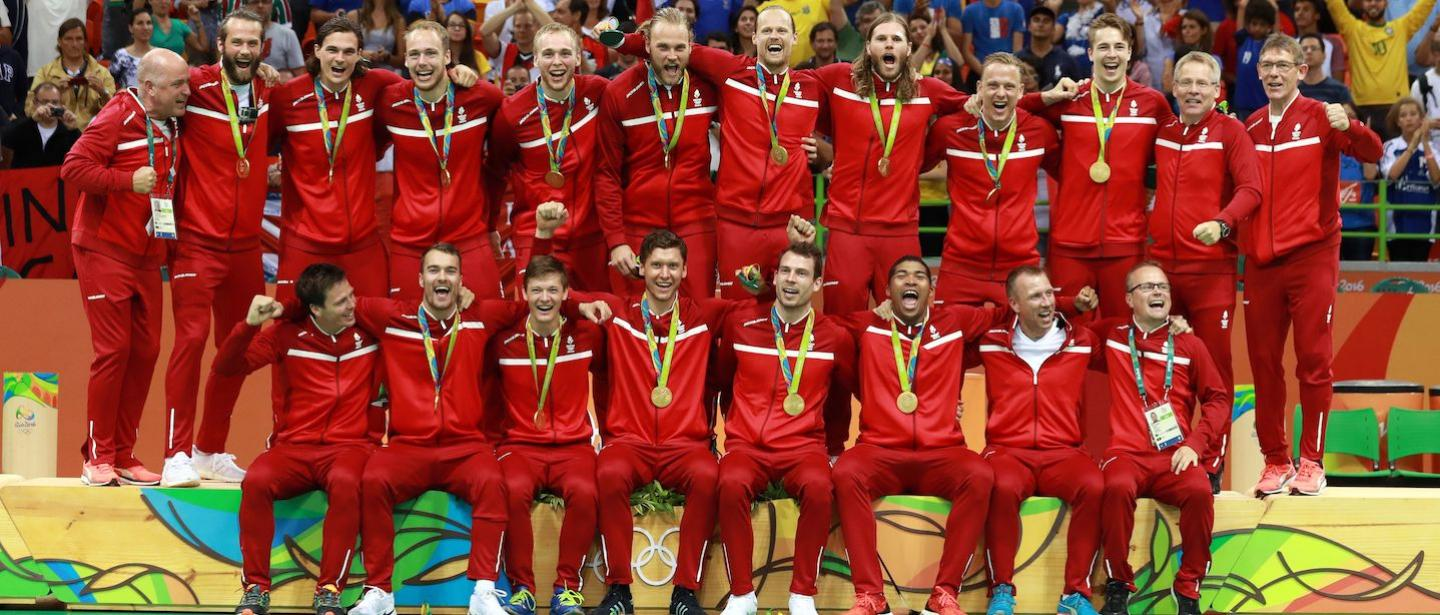 Rio 2016 reflection: Denmark's historic first men's gold