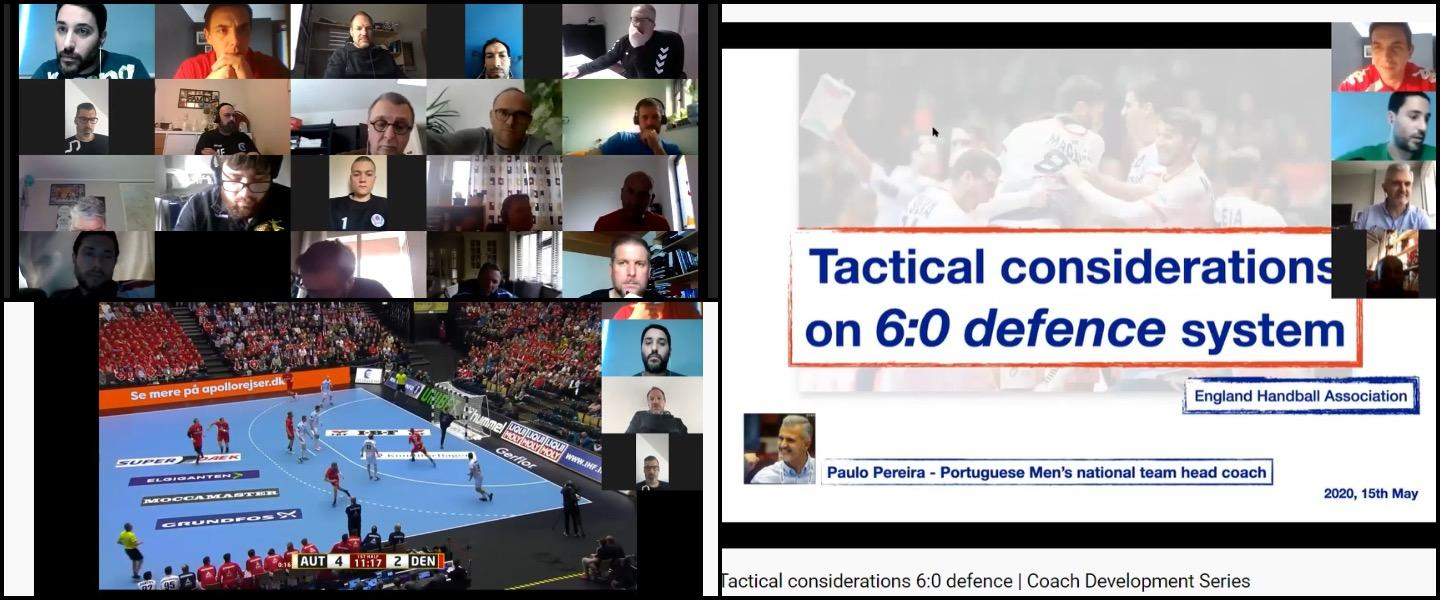 Worldwide interest in England Handball webinars