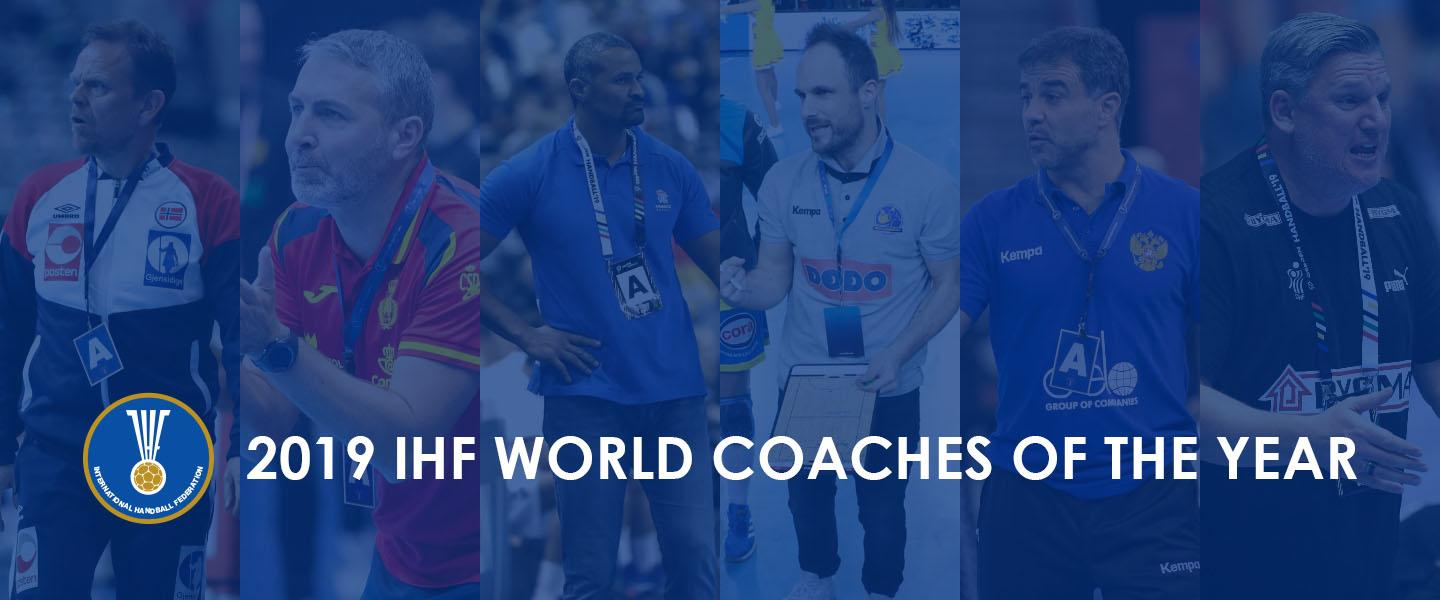 Presenting the 2019 IHF World Coaches of the Year nominees