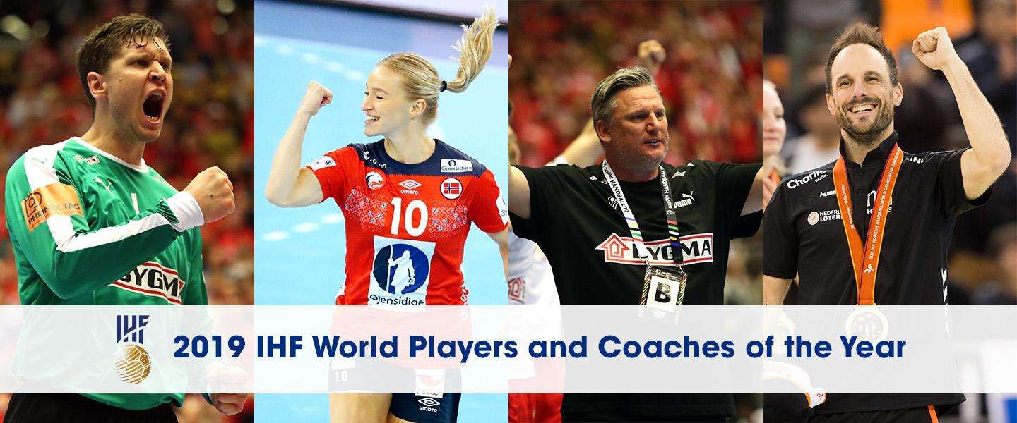 Oftedal and Landin named 2019 IHF World Players of the Year