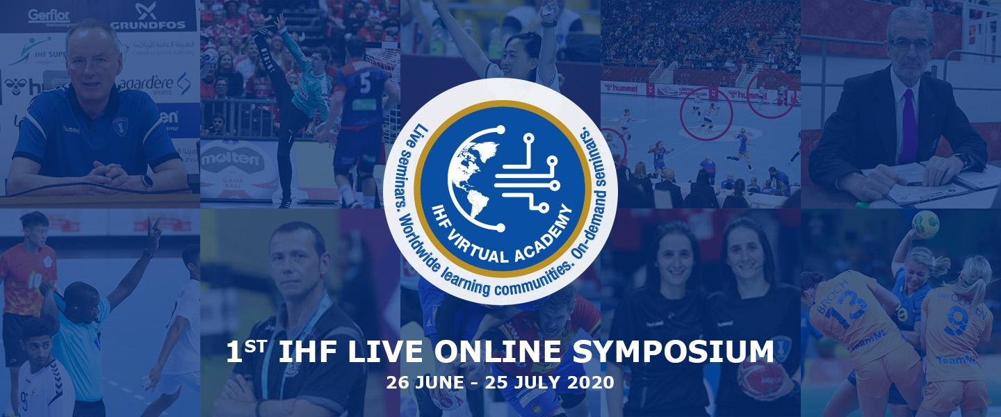 Millions reached by 1st IHF Live Online Symposium