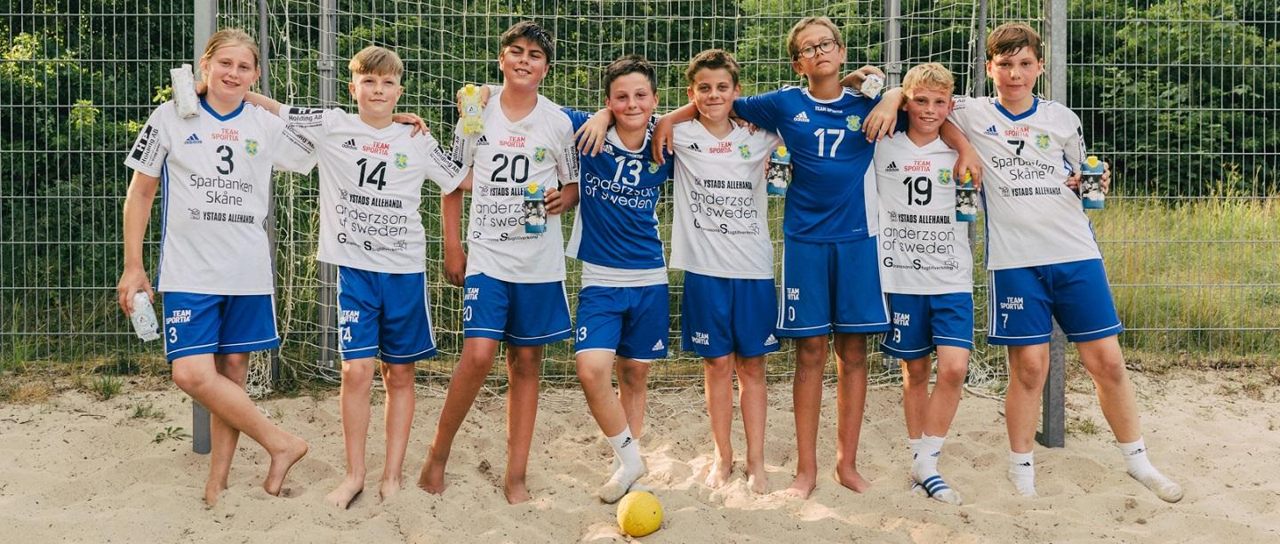The Sweden national teams and Tetra Pak launch The Handball Challenge