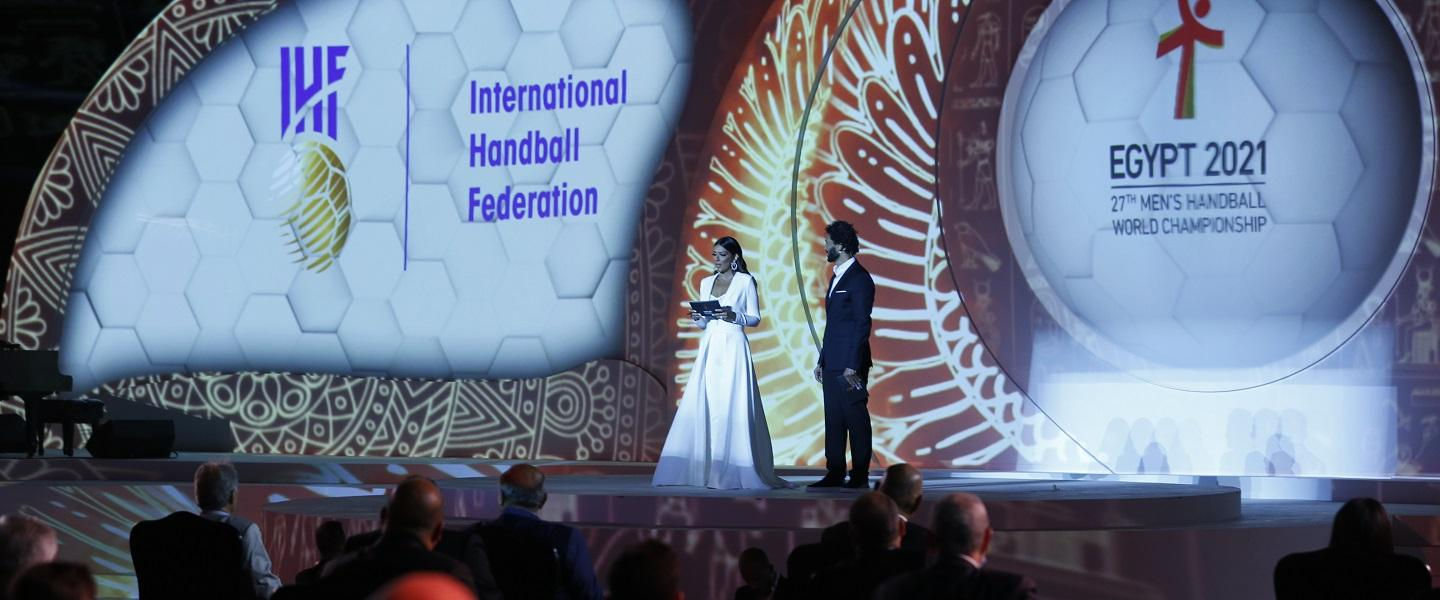 Amazing draw event puts Egypt 2021 in the spotlight