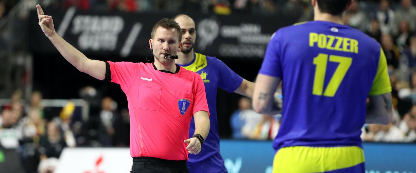 IHF confirms referees for Egypt 2021