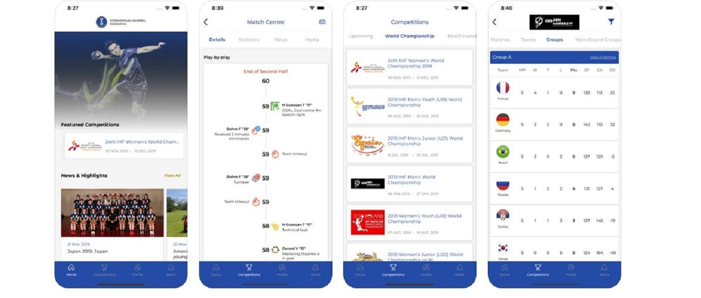IHF app and games: Bringing you closer to the action