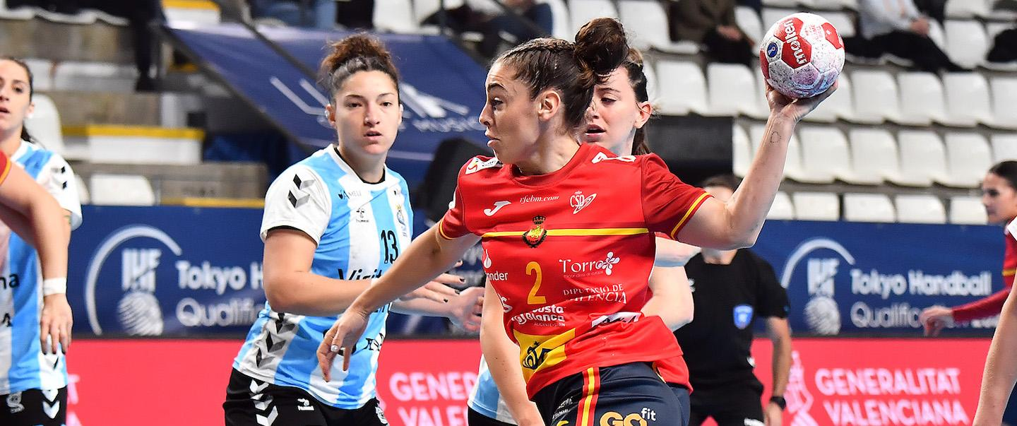 Spain seal Tokyo 2020 berth with clear win against Argentina