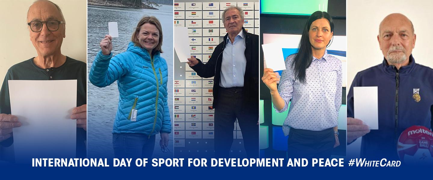 Coming back together, stronger: International Day of Sport for Development and Peace 2021